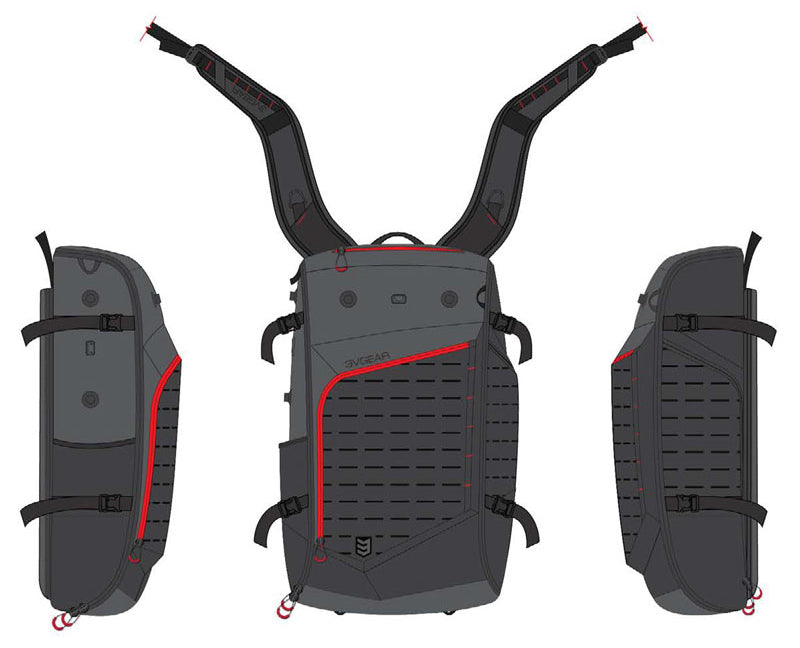 3V Gear EDC Tactical Backpack Prototype
