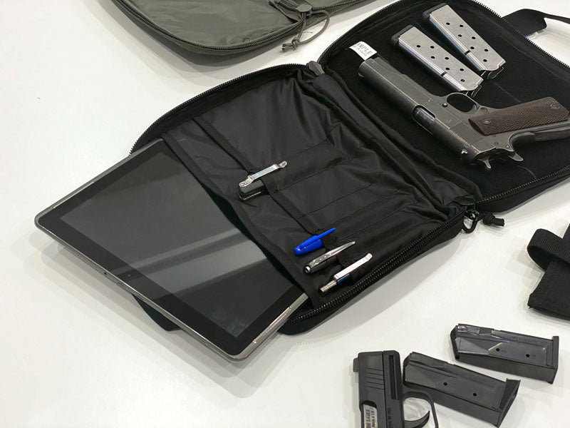 3V Gear Pistol Case Organizer Prototype Tablet Pocket