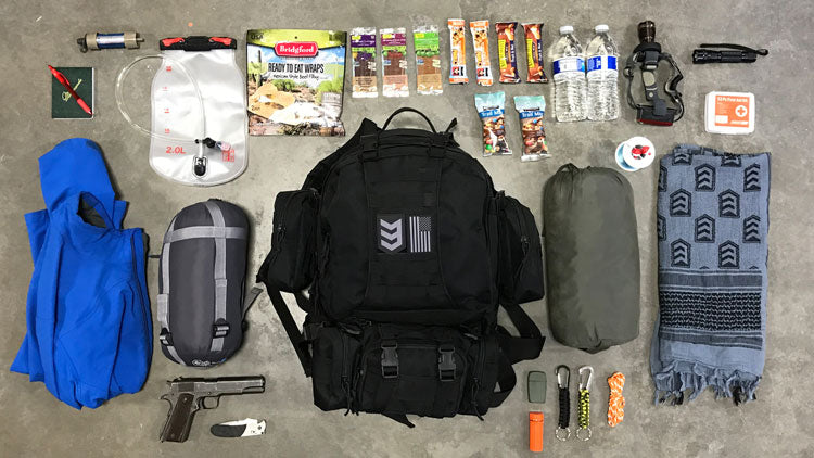 3v gear paratus 3-day backpack bug out bag