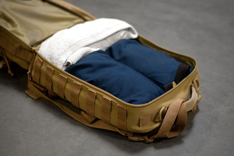How to pack a rucking backpack