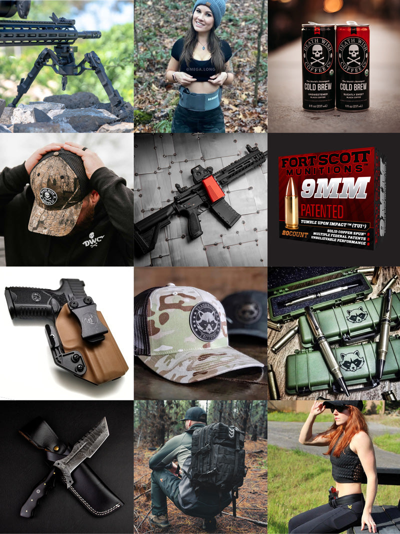 Spring Tactical Giveaway Products