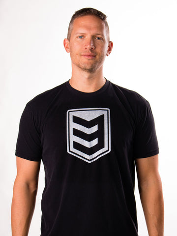 3V Gear Shield Tee - Black
