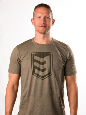 3V Gear Shield Tee - Olive Green