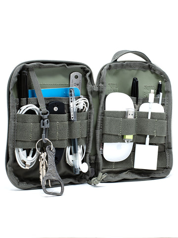 Compact Pocket Organizer - MOLLE Compatible
