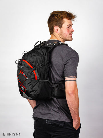 Surge Redline Hydration Backpack and 2L Reservoir