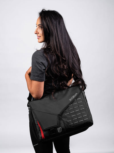 Cipher Redline Messenger Bag