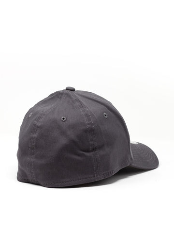 3V Gear Logo Hat - Graphite - New Era® Structured Stretch Cotton Cap