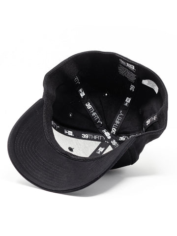 3V Gear Logo Hat - Black - New Era® Structured Stretch Cotton Cap