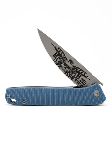 2nd Amendment React Folding Knife