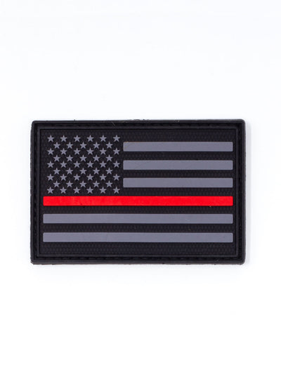 Fireman Red Line Morale Patch