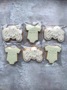 Personalised Baby Cookies