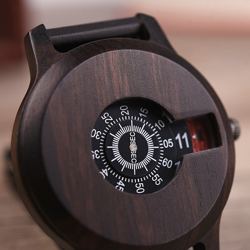 Watch Wooden Luxury Brand 1