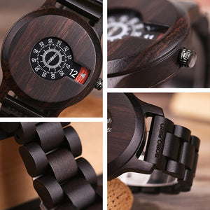 Watch Wooden Luxury Brand2