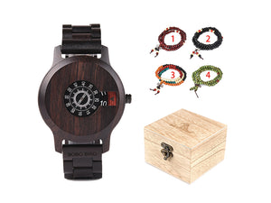 Watch Wooden Luxury Brand box