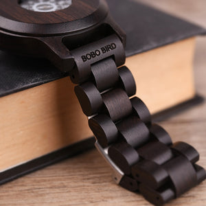 Watch Wooden Luxury Brand chain1