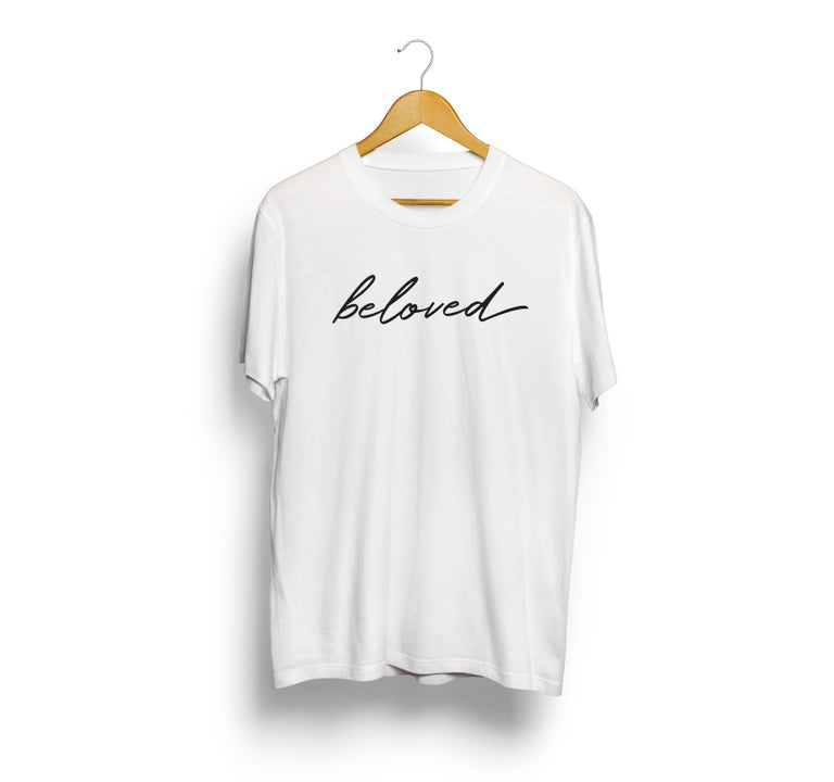 Beloved Shirt - White - Christian Apparel and Accessories - Ascend Wood Products