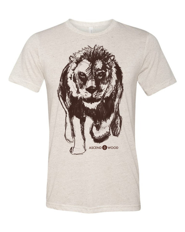 Bold Lion Shirt - Christian Apparel and Accessories - Ascend Wood Products