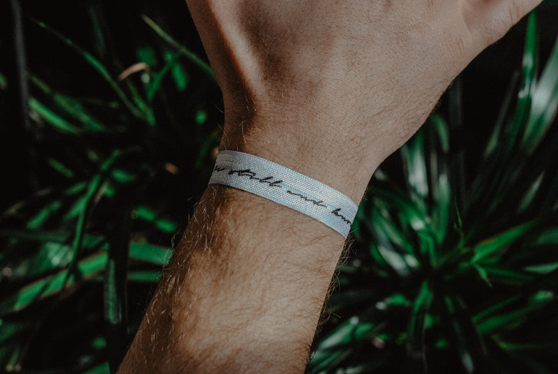 Be Still and Know - Hair Tie Wristband