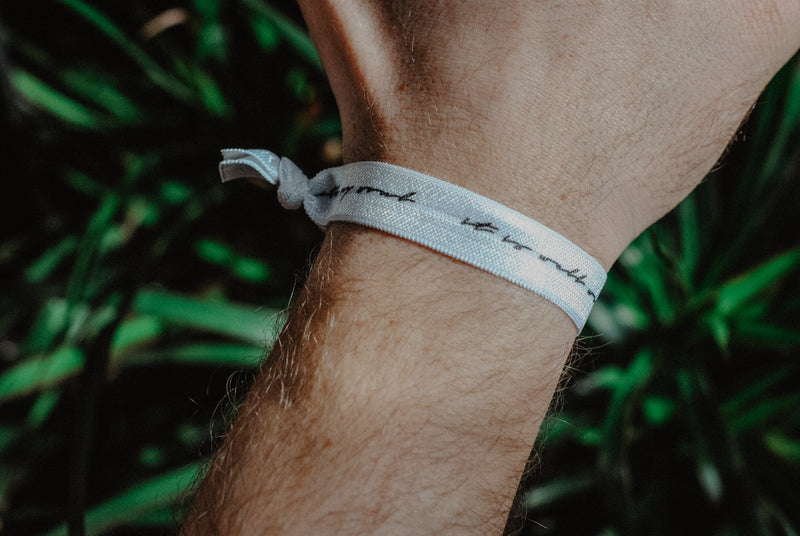 It Is Well With My Soul - Hair Tie Wristband