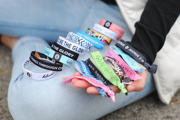 Ultimate Bracelet Bundle ($360 Value) - 10 Reversible + 10 Hair Ties - Christian Apparel and Accessories - Ascend Wood Products