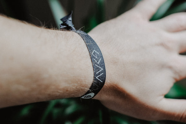 NEW* God is Greater - Hair Tie Wristband (Black) - Christian Apparel and Accessories - Ascend Wood Products
