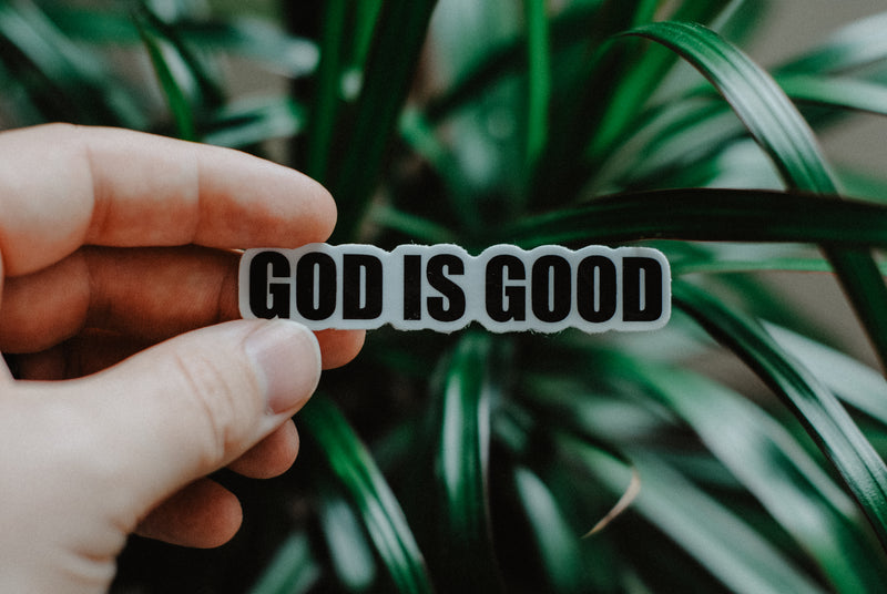 God is Good - Decal Sticker