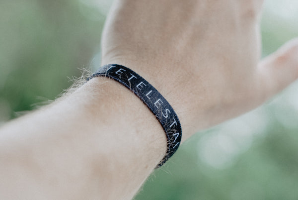 Tetelestai (It is Finished) Reversible Wristband - Christian Apparel and Accessories - Ascend Wood Products