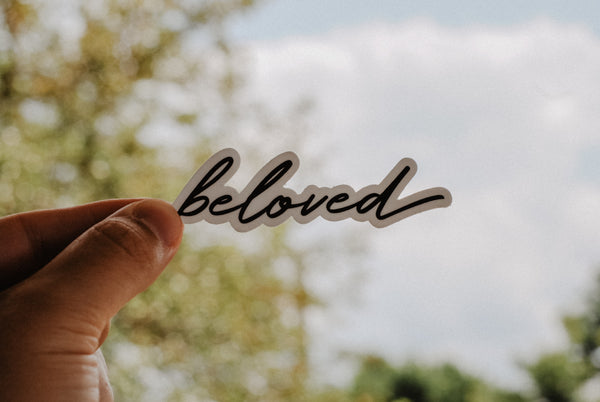 Beloved - Decal Sticker - Christian Apparel and Accessories - Ascend Wood Products