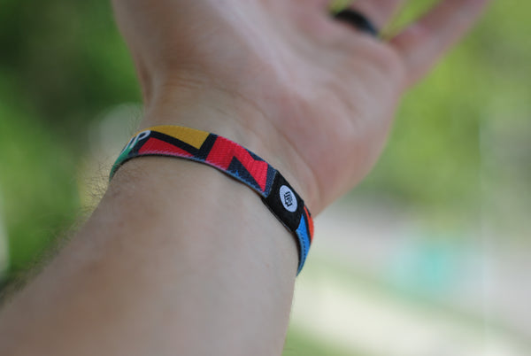 *NEW - Never Give Up Reversible Wristband - Christian Apparel and Accessories - Ascend Wood Products