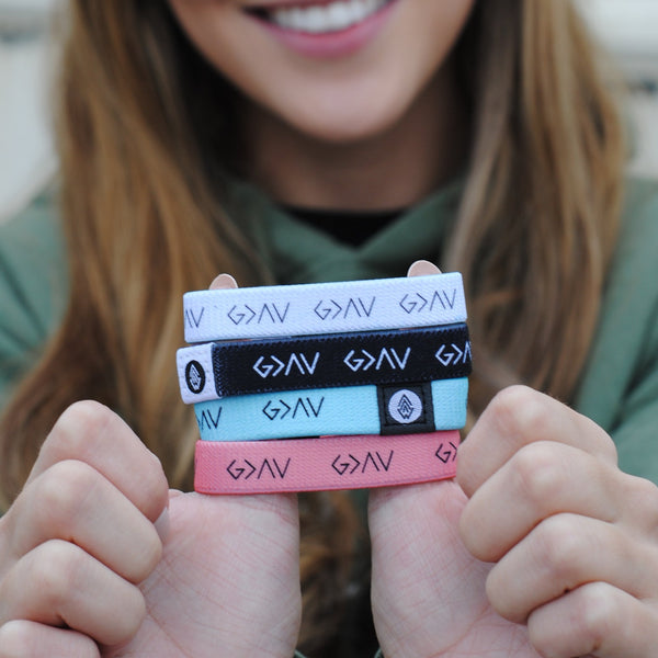 "4-Pack | ""God is Greater"" Reversible bracelets [$80 Value] - Christian Apparel and Accessories - Ascend Wood Products"