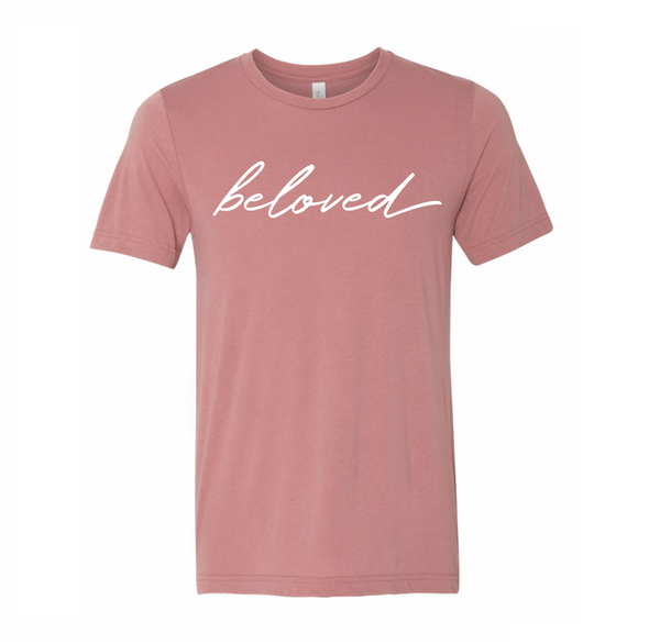 Beloved Shirt - Mauve - Christian Apparel and Accessories - Ascend Wood Products
