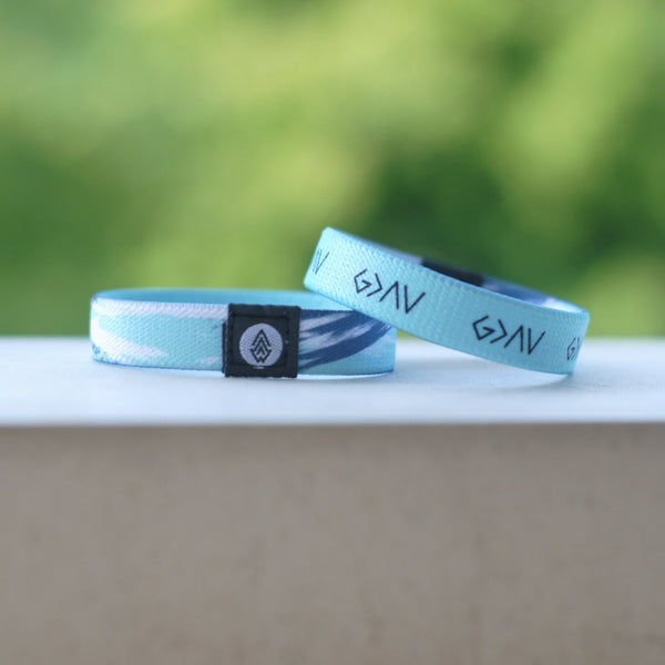 God is Greater' Reversible Bracelet | Mint - Christian Apparel and Accessories - Ascend Wood Products