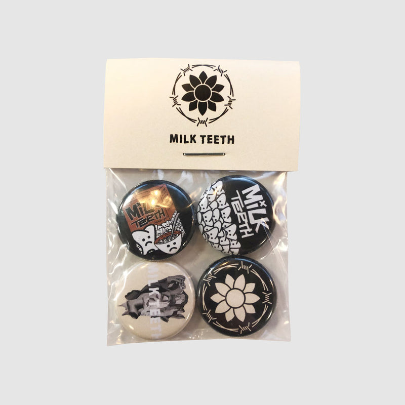Milk Teeth Badge Set