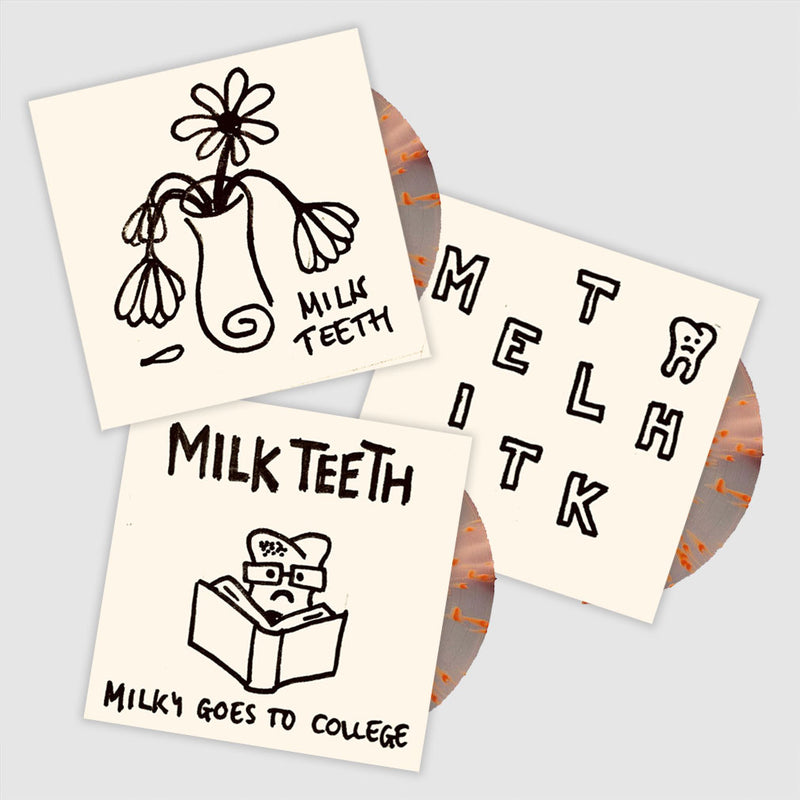Milk Teeth - Hand-Designed, Unique Artwork LPs