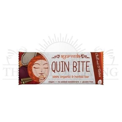 "Baton ayurvedic, raw, Quin Bite, 30g-Pitta""Chill out & Relax""-DAGRINO.RO"