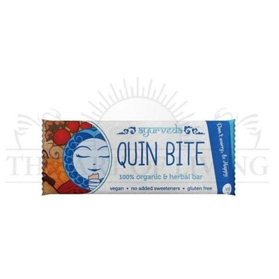 "Baton ayurvedic, raw, Quin Bite, 30g-Vata""Dont worry be happy""-DAGRINO.RO"