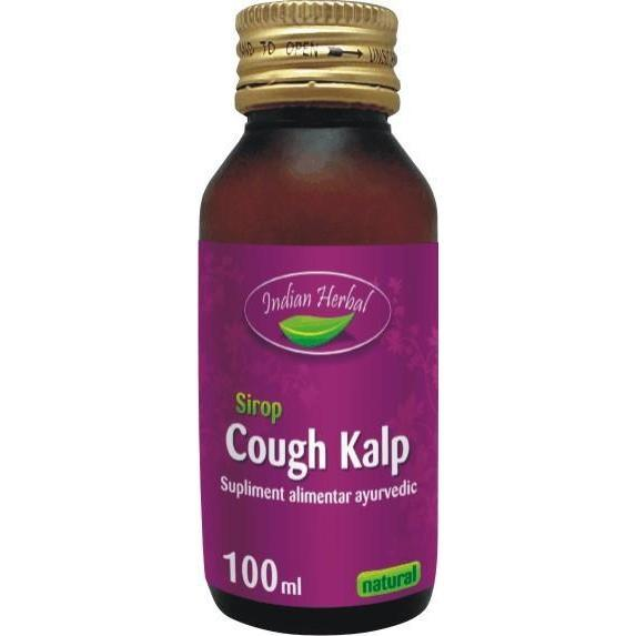 Cough Kalp, sirop, Indian Herbal, 100 ml