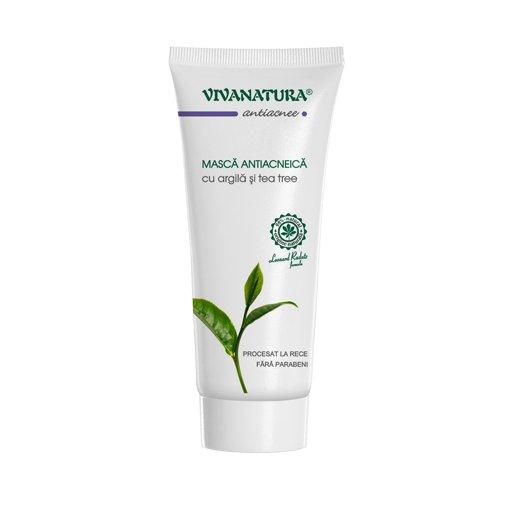 Masca antiacneica, VivaNatura, 75 ml 0