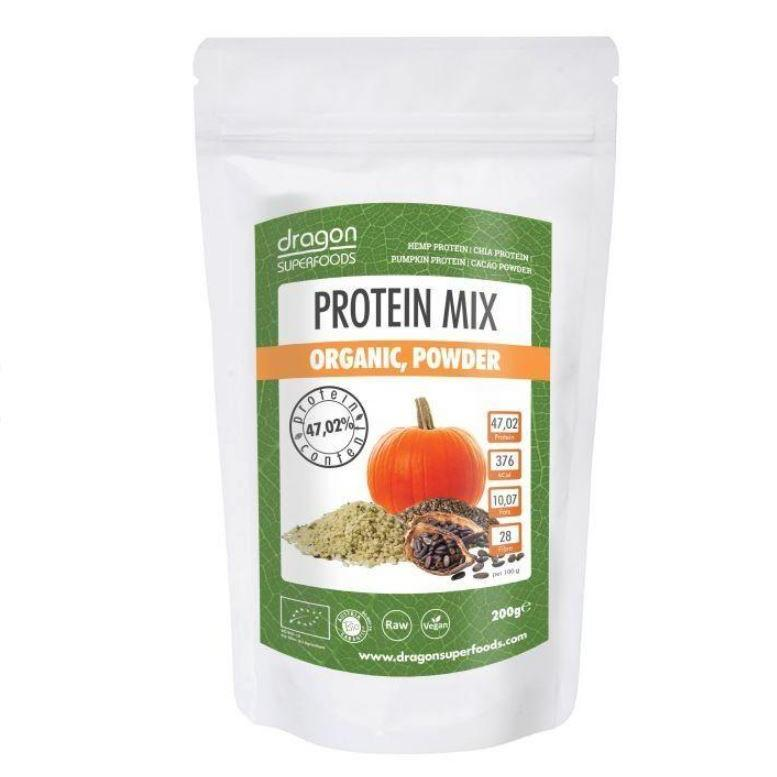 Mix proteic, bio, Dragon Superfoods, 200g