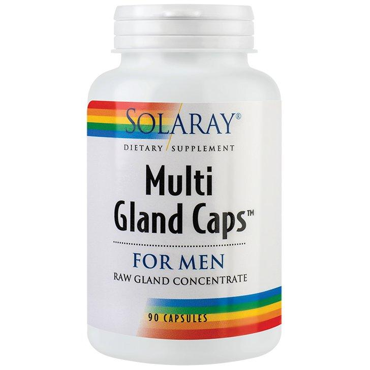 Multi Gland Caps For Men, Solaray, 90 capsule | Secom 0