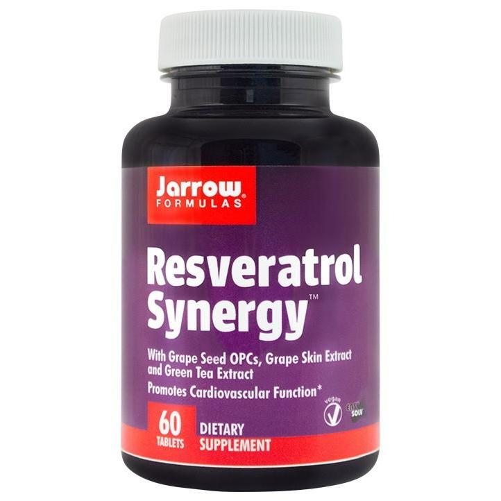 Resveratrol Synergy, Jarrow Formulas, 60 tablete | Secom