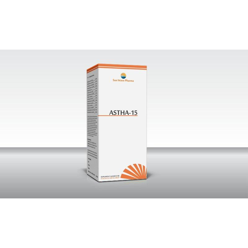 Astha 15, sirop, Sun Wave Pharma, 200 ml