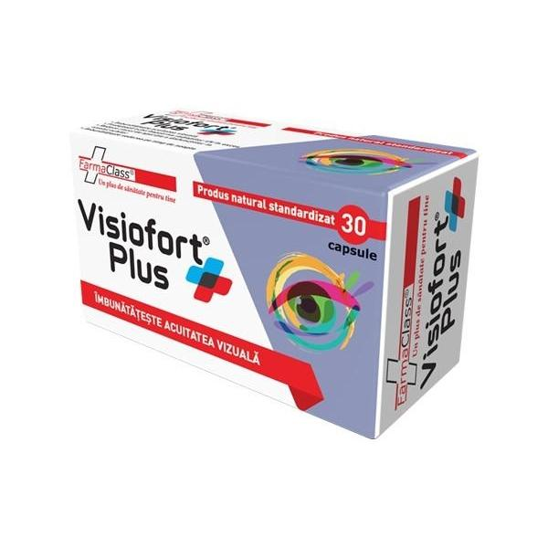 Visiofort Plus, FarmaClass, 30 capsule