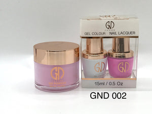 3-in-1 Nail Combo: Dip, Gel & Lacquer #002 | GND Canada® - CM Nails & Beauty Supply