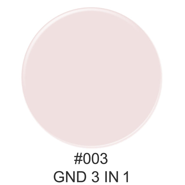 3-in-1 Nail Combo: Dip, Gel & Lacquer #003 | GND Canada® - CM Nails & Beauty Supply