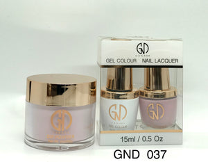 3-in-1 Nail Combo: Dip, Gel & Lacquer #037 | GND Canada® - CM Nails & Beauty Supply