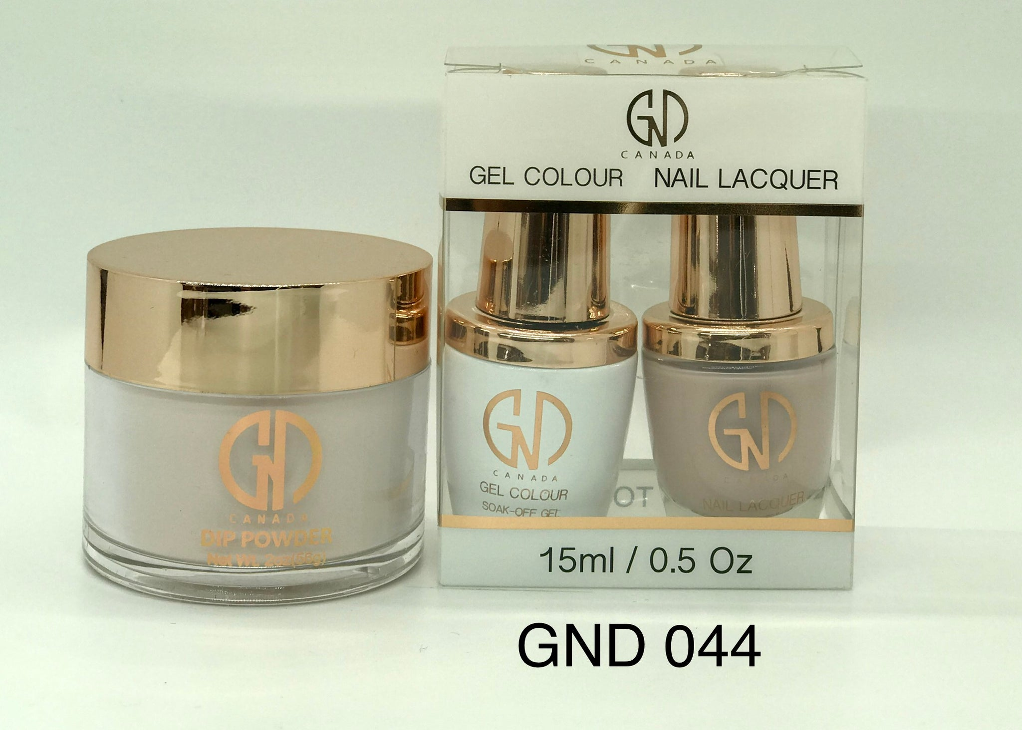 3-in-1 Nail Combo: Dip, Gel & Lacquer #044 | GND Canada® - CM Nails & Beauty Supply