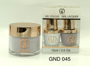 3-in-1 Nail Combo: Dip, Gel & Lacquer #045 | GND Canada® - CM Nails & Beauty Supply