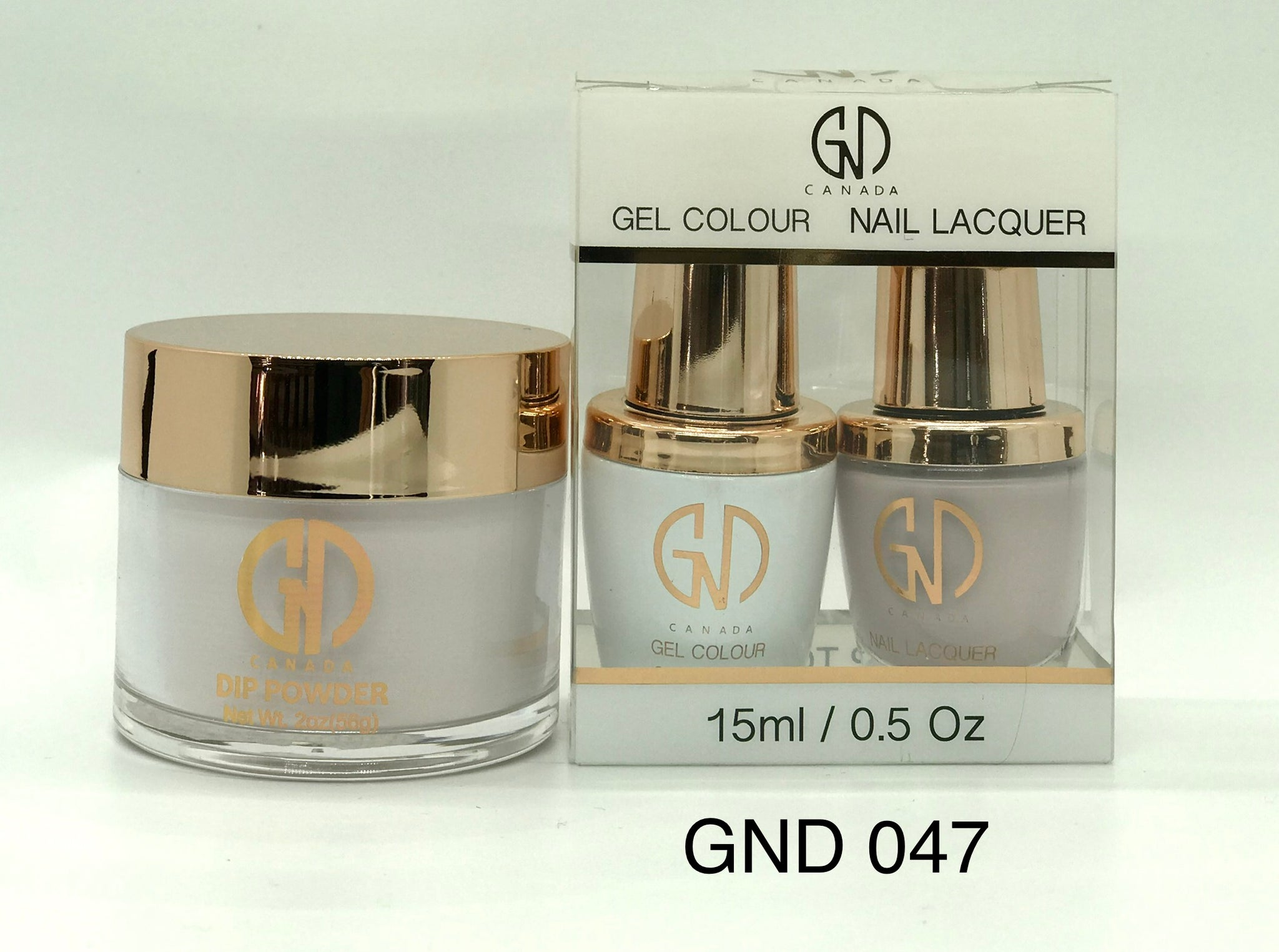 3-in-1 Nail Combo: Dip, Gel & Lacquer #047 | GND Canada® - CM Nails & Beauty Supply