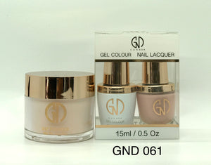 3-in-1 Nail Combo: Dip, Gel & Lacquer #061 | GND Canada® - CM Nails & Beauty Supply